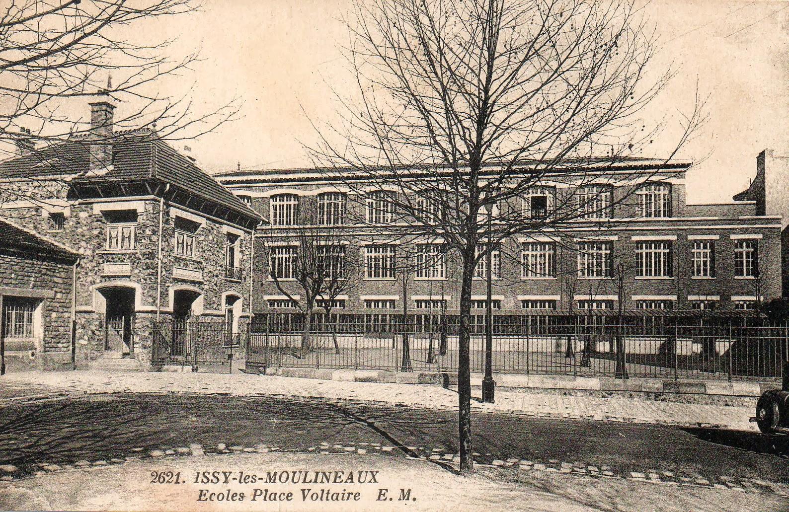 Historim s quence nostalgie l 39 ancienne cole voltaire - Office du tourisme issy les moulineaux ...