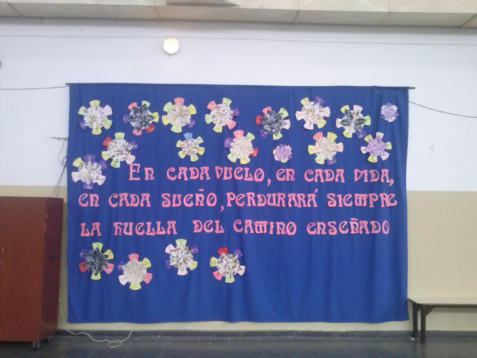 Escuela primaria n 2 feliz d a del maestro for Decoracion 9 de julio primaria