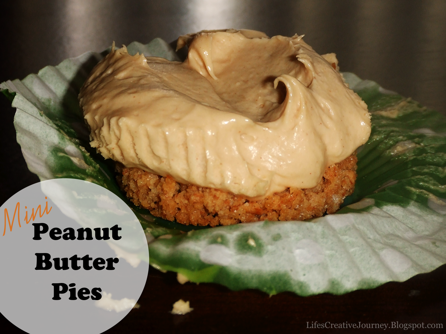 Simply Dream & Create: Mini Peanut Butter Pies