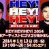 HEY!HEY!HEY! 2014年 嵐・関ジャニ・三代目J Soul Brothersが出演