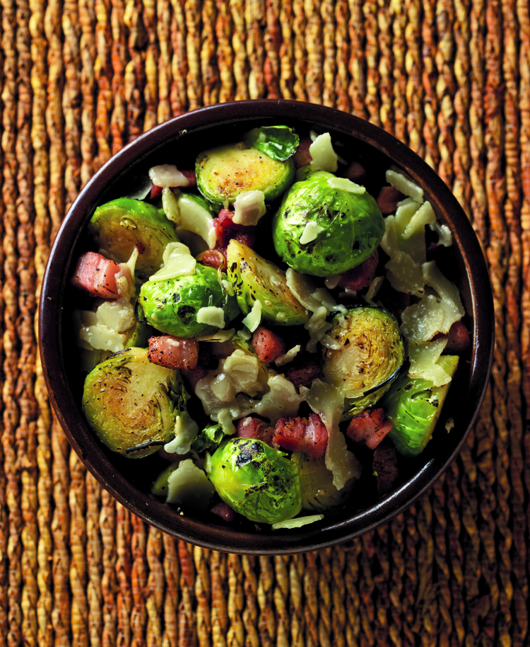brussels sprout with dried sole brussels sprouts hash with fried sage ...