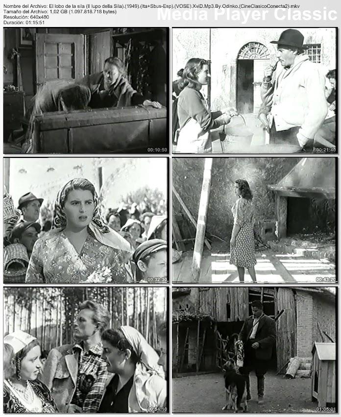 Imagenes de la película: El lobo de la sila | 1949 | Il lupo della Sila
