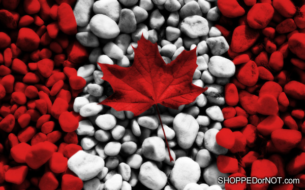 canadian flag shopped or not