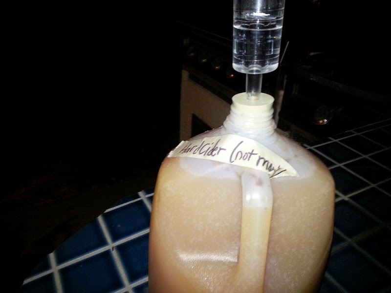 Hard Cider container