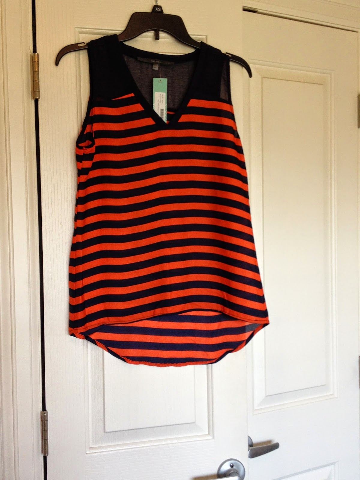 Fun2Fun Sonoma Striped Sleeveless Top StitchFix