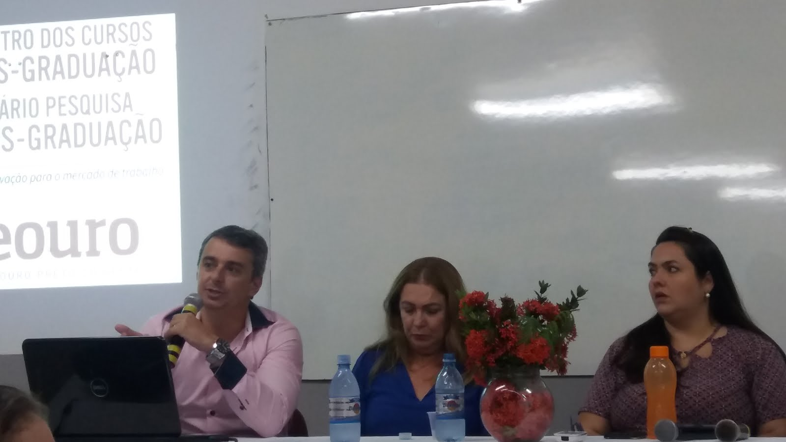 I SEMINÁRIO DOS CURSOS DE PÓS-GRADUAÇÃO DA UNEOURO