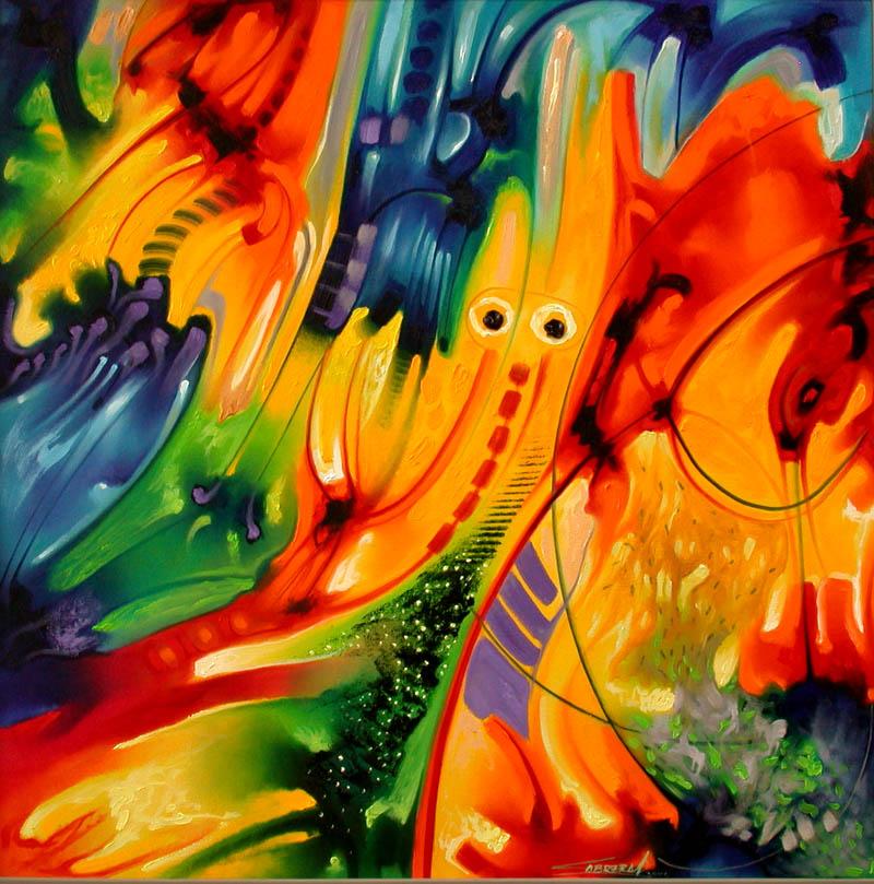 Pinturas cuadros lienzos cuadros abstractos modernos for Imagenes de cuadros abstractos famosos