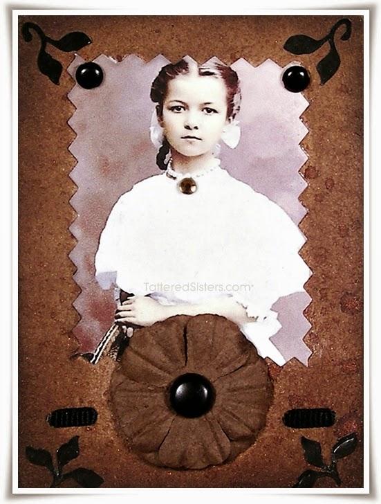 Vintage Girl ATC