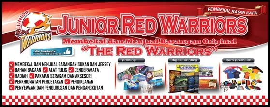 BUTIK JUNIOR RED WARRIORS