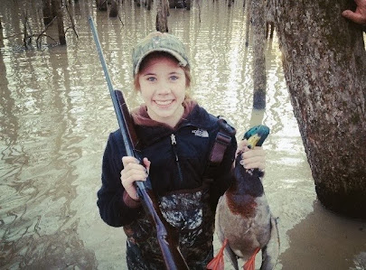 Duck Hunting with Allie