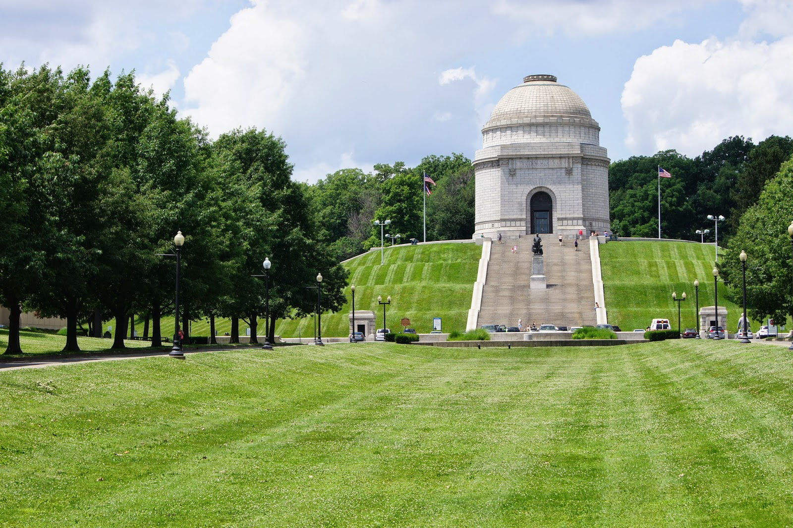 McKinley Monument & The William McKinley Presidential Library and Museum