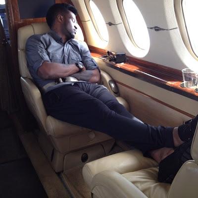 psquare private jet
