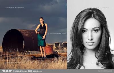 Miss Armenia Hayastan Միսս Հայաստան 2012 Anna Arakelyan