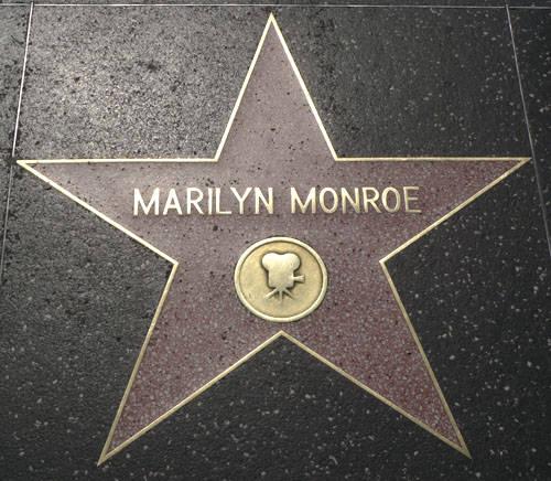 Bulevar Slavnih - Holivud MQ3536-Marilyn+Monroe