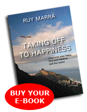 TAKING OFF TO HAPPINESS