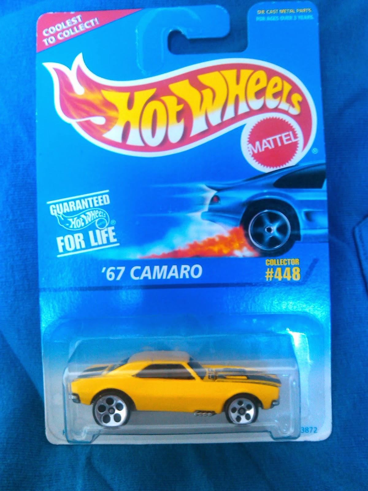 Colección Chevrolet Camaro en Blister '67+Camaro+1997+Hot+Wheels+%23448+5DOT's