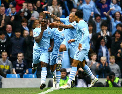 Manchester City 3 - 1 Newcastle United (1)