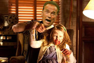 Arnold Schwarzenegger e la figlia Zombie del Governatore (by ScreenCrush)