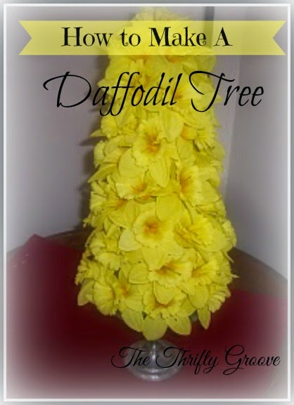 How to make a Daffodil Tree