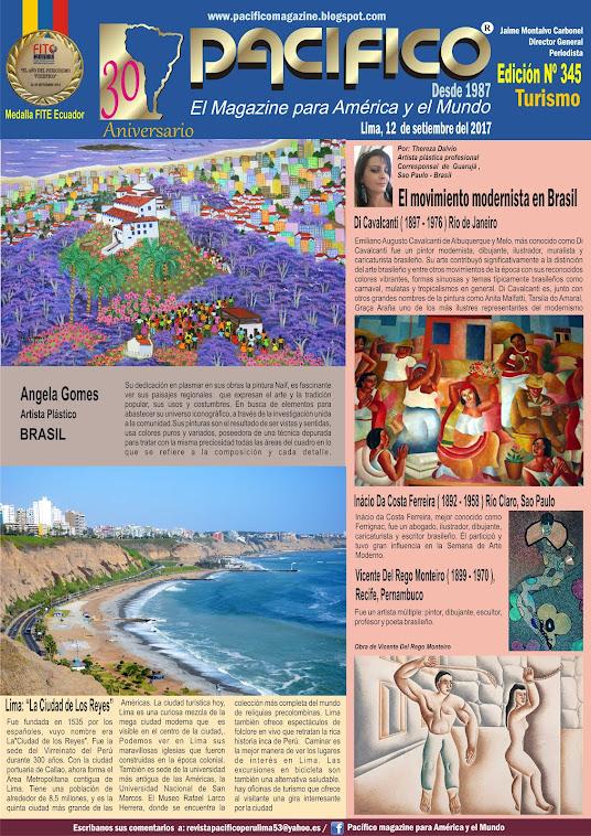 Revista pacífico Nº 345 Turismo