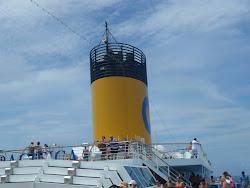 Especial Costa Pacifica 2012 : Terceiro dia - navegação