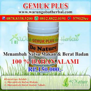 Gemuk Plus - Warung Obat Herbal - Sehat, Alami dan Terpercaya