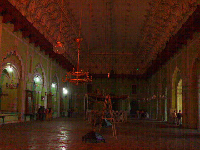 Bara Imambara - Main Hall -Lucknow