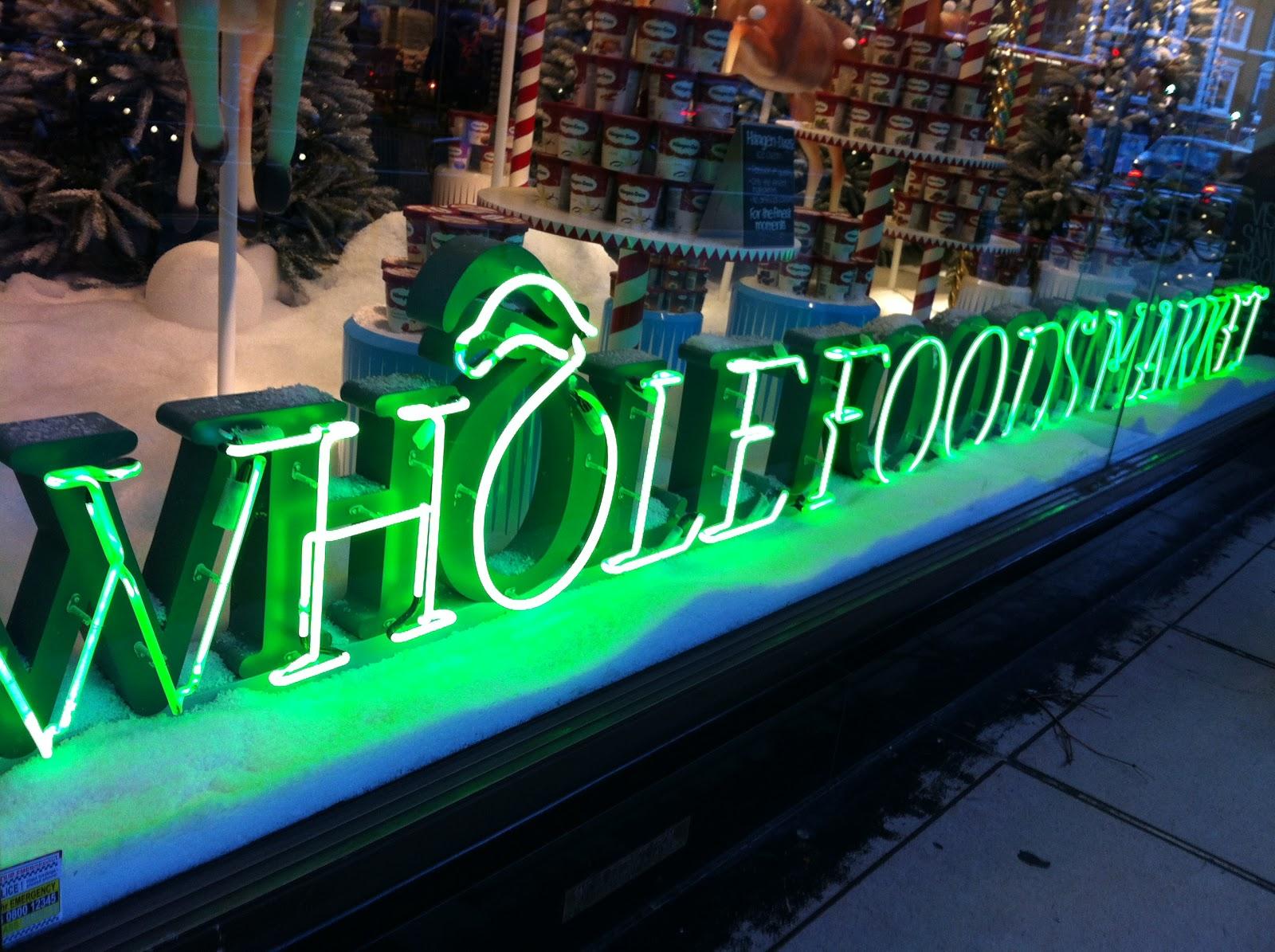 Whole Foods Kensington Christmas