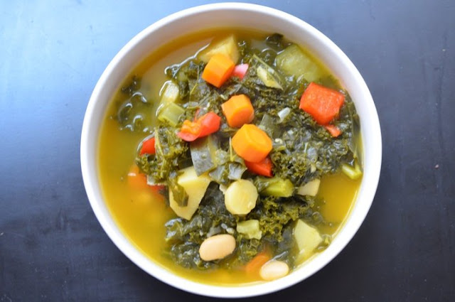 The Inventive Vegetarian: Vegetable Soup for the Sick