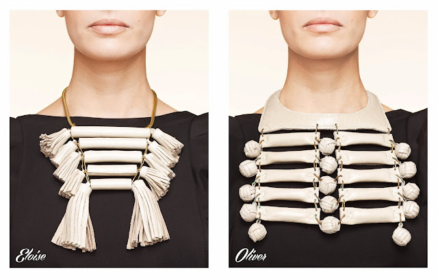 Eloise and Oliver necklaces, Hanh Lam, Fashion and Cookies, fashion blog
