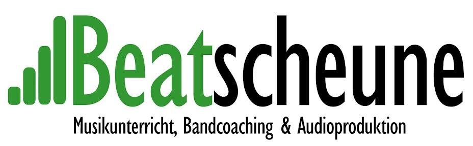 BEATSCHEUNE - Musikunterricht, Bandcoaching & Audioproduktion