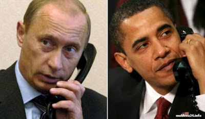 Putin Makes a Surprise call to the White House