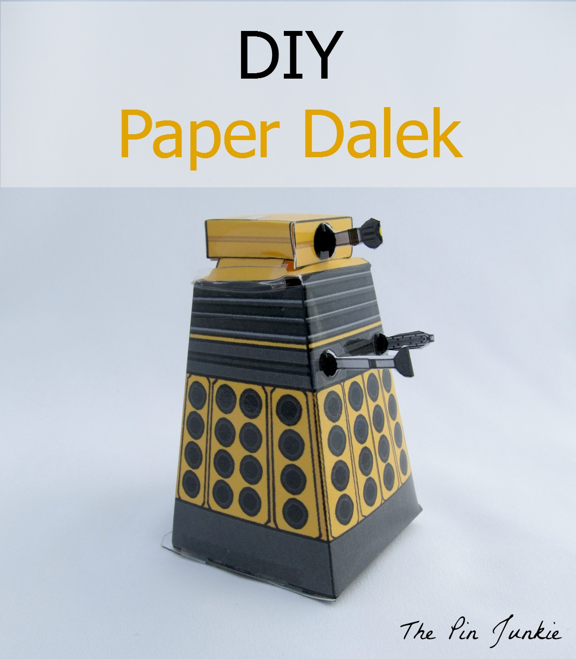 It is a photo of Playful Doctor Who Paper