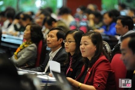 Quốc hội sẽ lấy phiếu tín nhiệm 49 nhân sự cấp cao. Ảnh: Minh Thăng