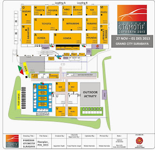 floor plan pameran otomotif surabaya 2013