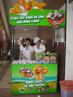 booth bán hàng di động