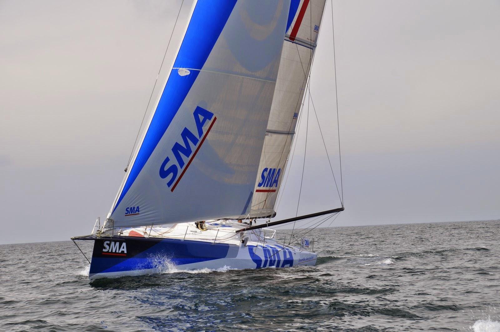 Première nav' de SMA et Paul Meilhat.