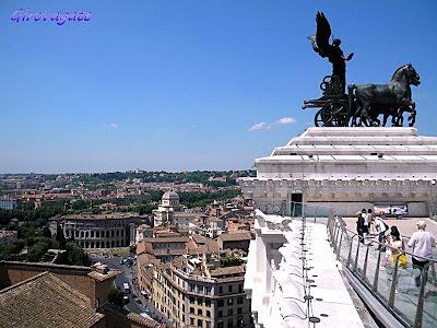 Roma panorama Vittoriano