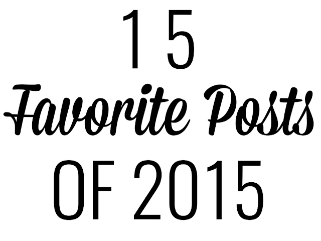 15 Favorite Posts Of 2015
