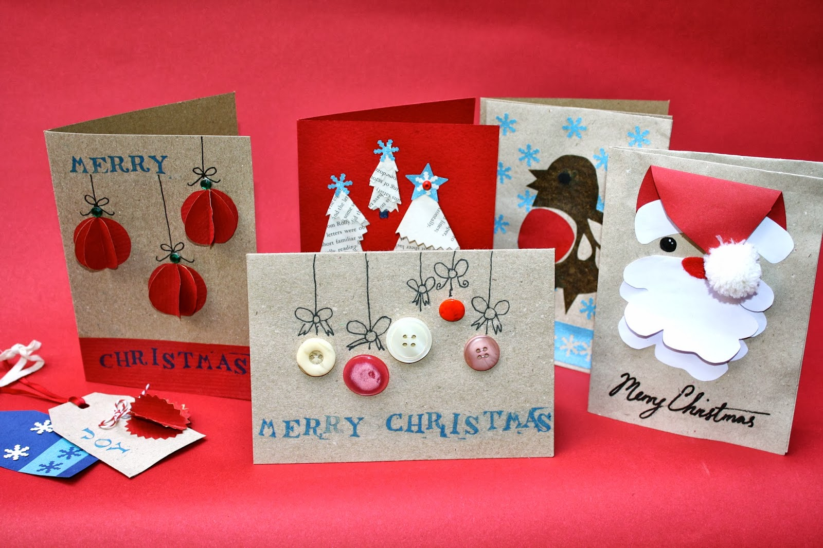 Handmade christmas cards part two mrs fox 39 s life home for Handmade christmas cards