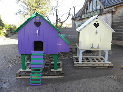 Chicken Coop with painted option