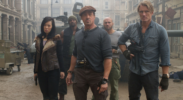 Nan Yu  The expendables 2