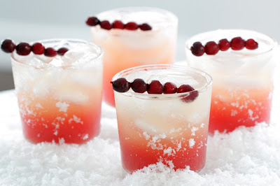 Vanilla Vodka Drinks With Cranberry