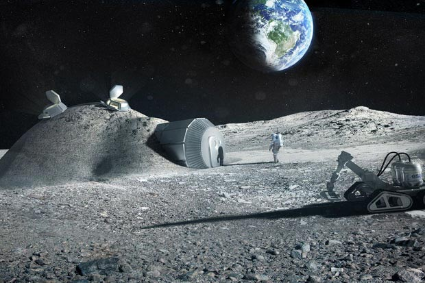 """Report: Engineers And Scientists Plan To Build """"Moon Village"""" In Mars (Photos)"""
