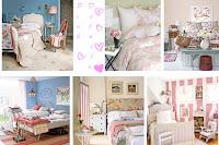 diseño de dormitorio country