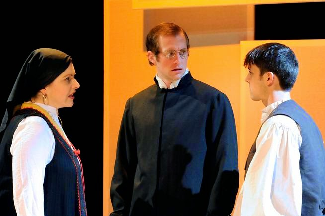 Haley Johnson (Marija), Casey Andree (Father Luka), John Hauser (Young Stipan)