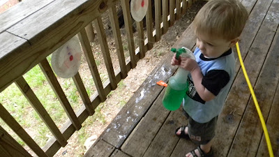 Squirt gun shooting range, fun summer activities for kids fun activities for boys