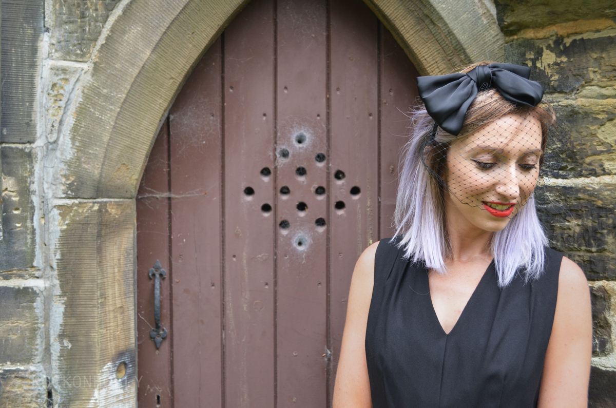 Wear Black to A Wedding - ASOS headband