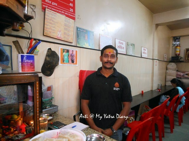 Arjun Powar of Sri Kala Missal Snacks in Pune, Maharashtra