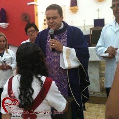 Posse da nova presidente do Apostolado da Oração